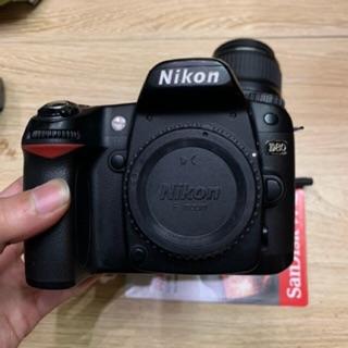 Bộ máy ảnh nikon D80 ống kính Nikon 35-80f4-5.6 mới 95%
