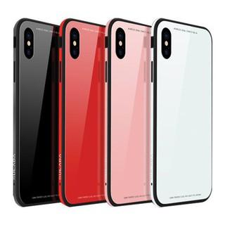 Ốp lưng iPhone XS Max mặt kính chịu lực viền dẻo silicone Sulada thumbnail
