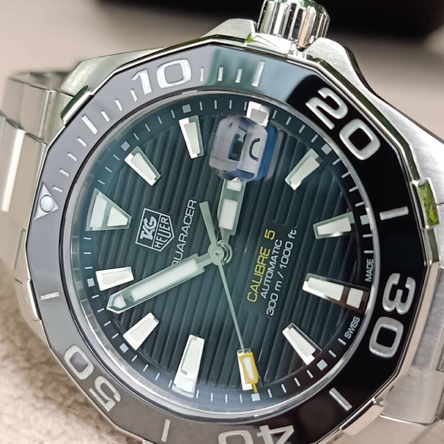 Tag Heuer Aquaracer Calibre 5 Black Ceramic WAY211A