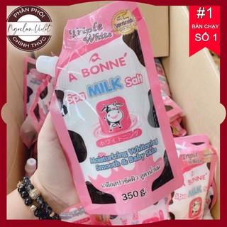 [Chuẩn Thái] Muối Tắm Sữa Bò Tẩy Tế Bào Chết A Bonne Spa Milk Salt Thái Lan 350gr thumbnail