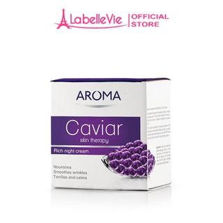 Kem dưỡng da ban đêm AROMA Caviar Skin Therapy Cream chiết suất trứng cá 50ml thumbnail