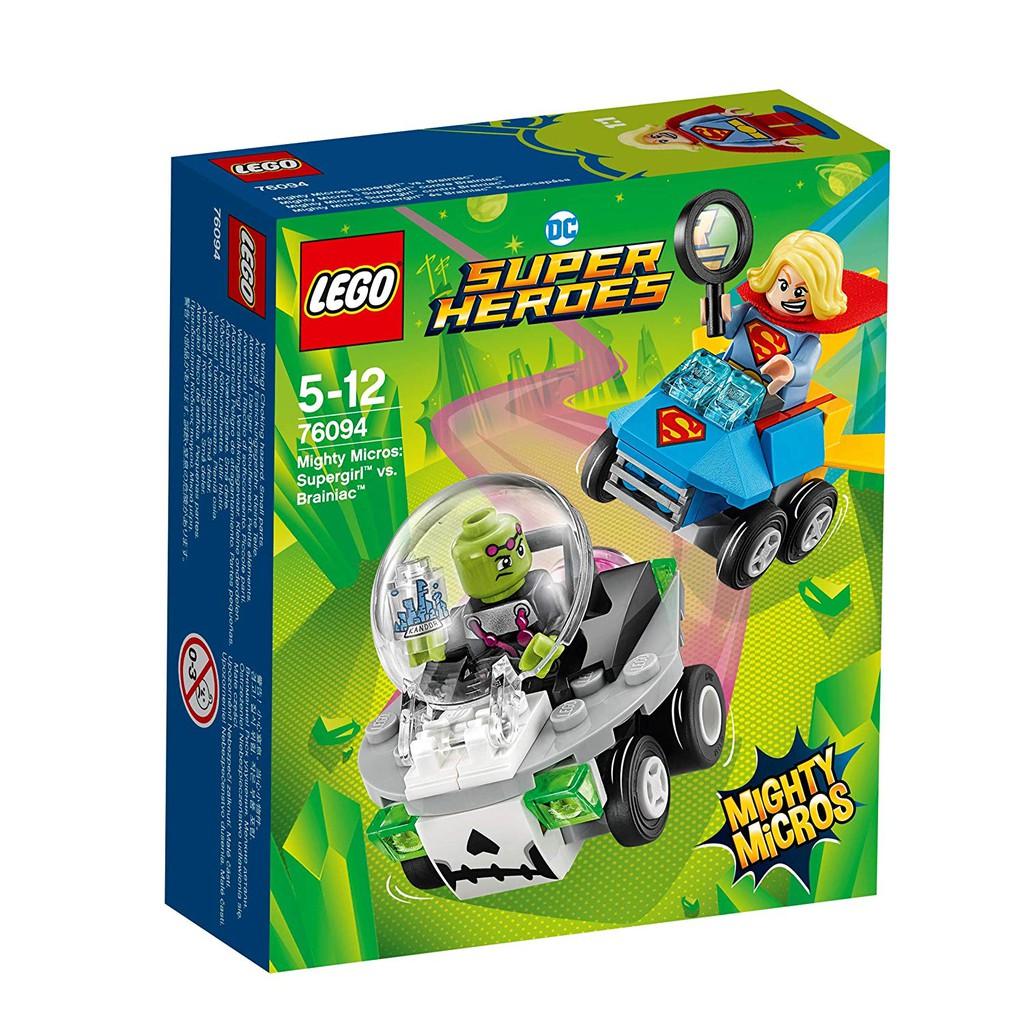 Đồ Chơi Lắp Ráp LEGO Nữ Siêu Nhân Đối Đầu Braniac 76094