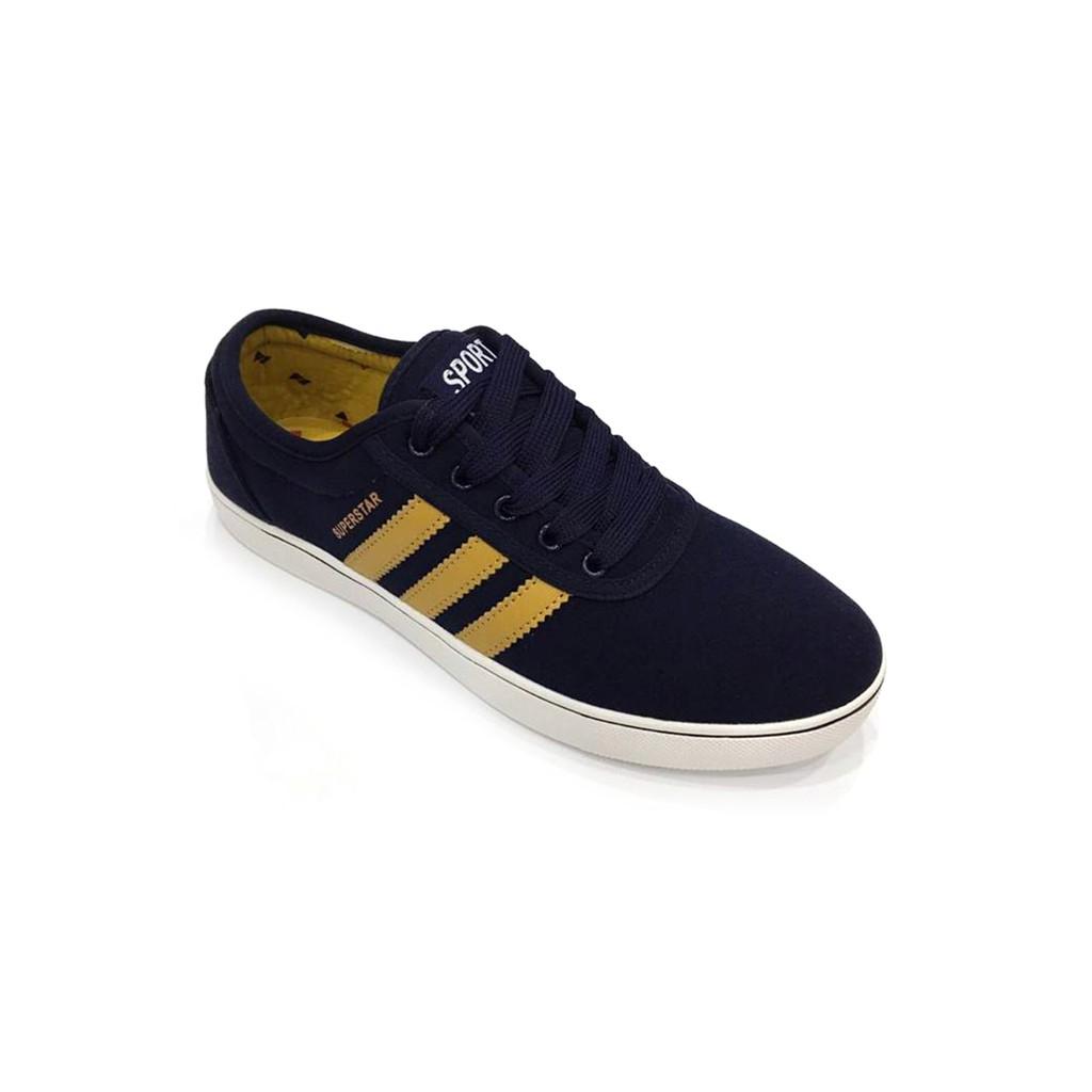 Giày thể thao nam xanh đậm sọc vàng E215 - 10053509 , 176348493 , 322_176348493 , 420000 , Giay-the-thao-nam-xanh-dam-soc-vang-E215-322_176348493 , shopee.vn , Giày thể thao nam xanh đậm sọc vàng E215