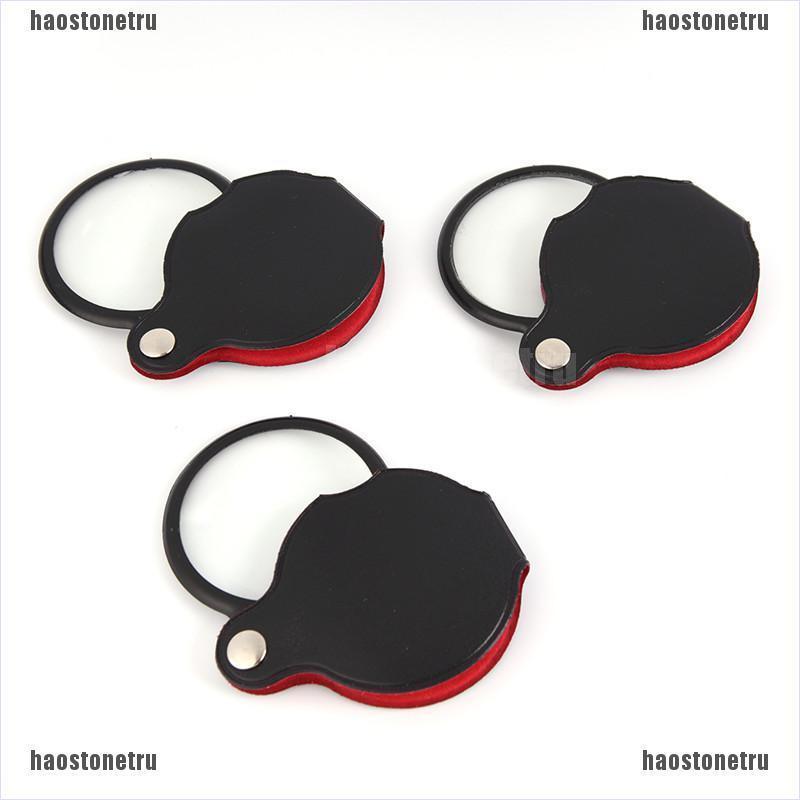 (hao)Pop Folding 10X Mini Pocket Jewelry Magnifier Magnifying Eye Glass Loupe Lens A+