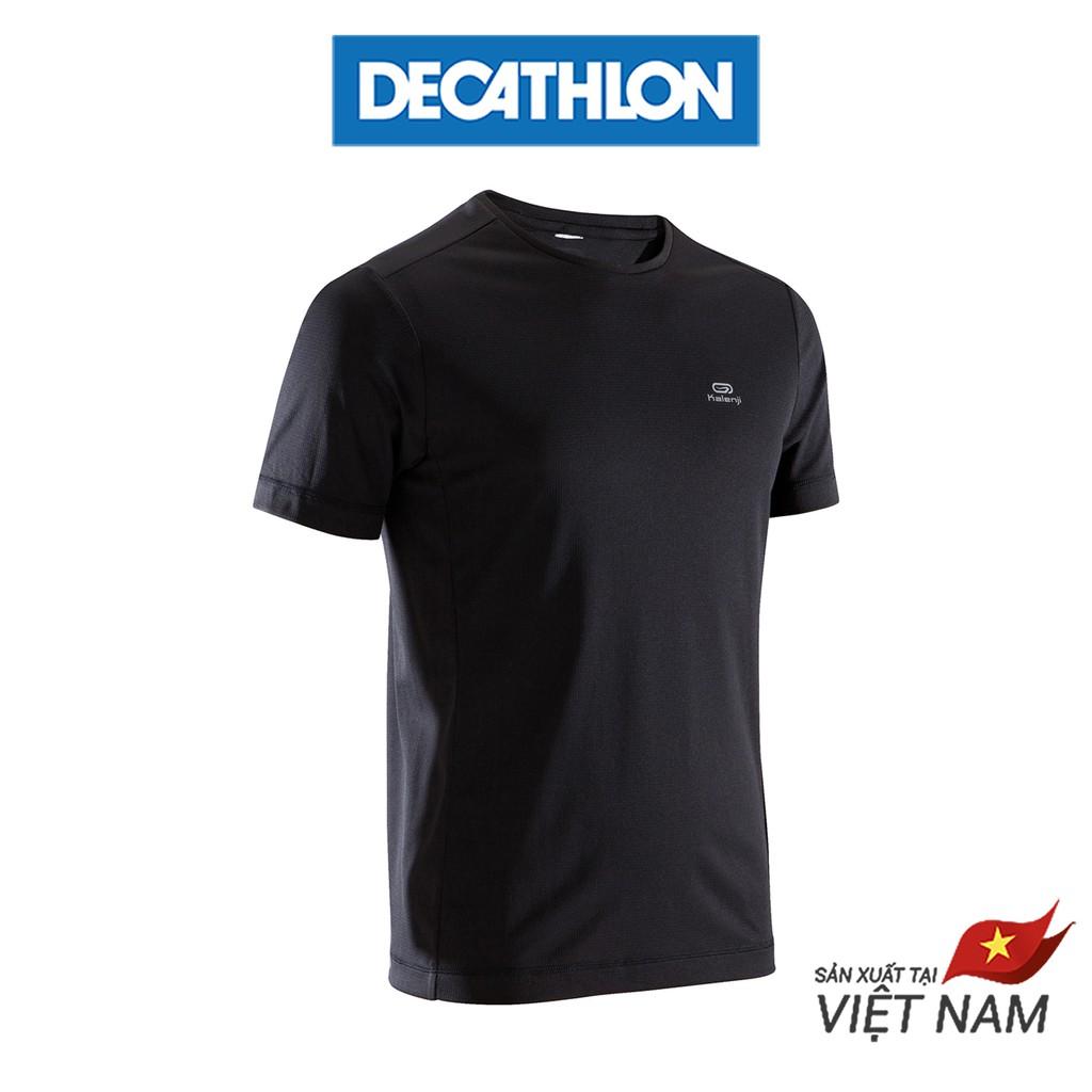 Áo Thun Chạy Bộ Cho Nam Kalenji Run Dry