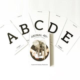 Bộ 31 thẻ ANIMAL 4D phát triển kĩ năng nghe nói tiếng Anh cho bé thumbnail