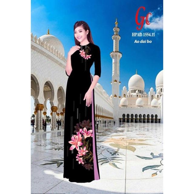 Vải áo dài in hoa 3D - 3037535 , 352133215 , 322_352133215 , 220000 , Vai-ao-dai-in-hoa-3D-322_352133215 , shopee.vn , Vải áo dài in hoa 3D