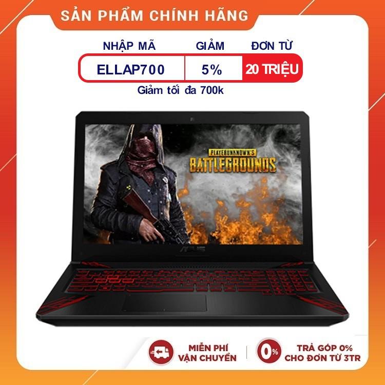 [Trả góp 0%] Laptop ASUS TUF Gaming FX504GE-E4138T i5-8300H, 15.6 inch Full HD- Hàng chính hãng