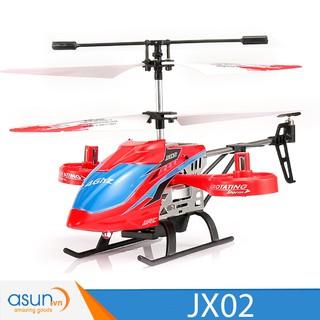 Máy bay trực thăng điều khiển💥 bền nhất 💥JJRC JX02 Tự Giữ Độ Cao 2.4Ghz 4CH màu Đỏ và Vàng