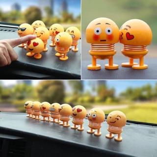 Sét 2-6 thú nhún lò xo Emoji nhiều biểu cảm siêu hót [ SIÊU SỈ 2020 ]