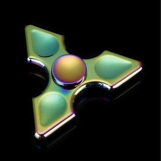 Con Quay Fidget Spinner Rainbow Hình Mũi Giáo_giá tốt