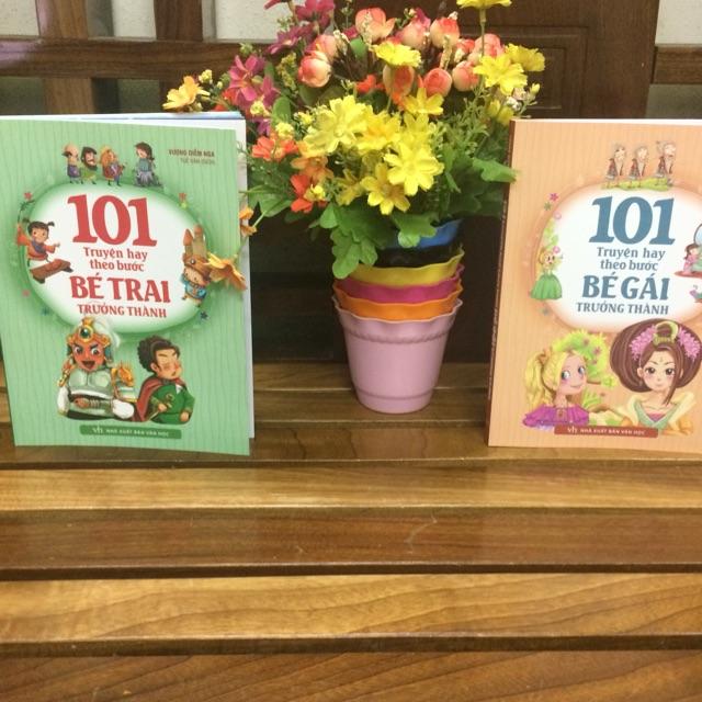 Combo 2 cuốn truyện 101 truyện hay theo bước trưởng thành dành cho bé trai và bé gái - 3443859 , 992960517 , 322_992960517 , 130000 , Combo-2-cuon-truyen-101-truyen-hay-theo-buoc-truong-thanh-danh-cho-be-trai-va-be-gai-322_992960517 , shopee.vn , Combo 2 cuốn truyện 101 truyện hay theo bước trưởng thành dành cho bé trai và bé gái