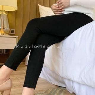 [Mã FASHION10KP giảm 10K đơn 50K] MEDYLA Quần bầu legging cotton co dãn có chun điều chỉnh mặc được sau sinh LG002 thumbnail