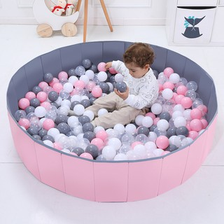 ★°Infant Shining Foldable Pool Ocean Ball Playpen Toy Kids-Small