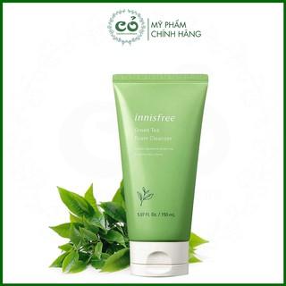 Sữa rửa mặt Innisfree Green Tea Foam Cleanser
