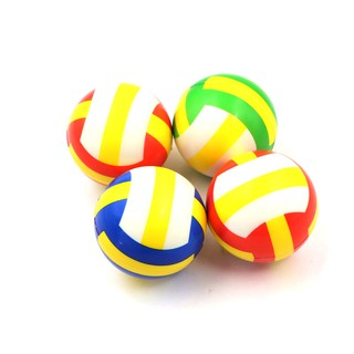 1PC Stress Relief Vent Ball Mini Volleyball Squeeze Foam Ball Kids Outdoor