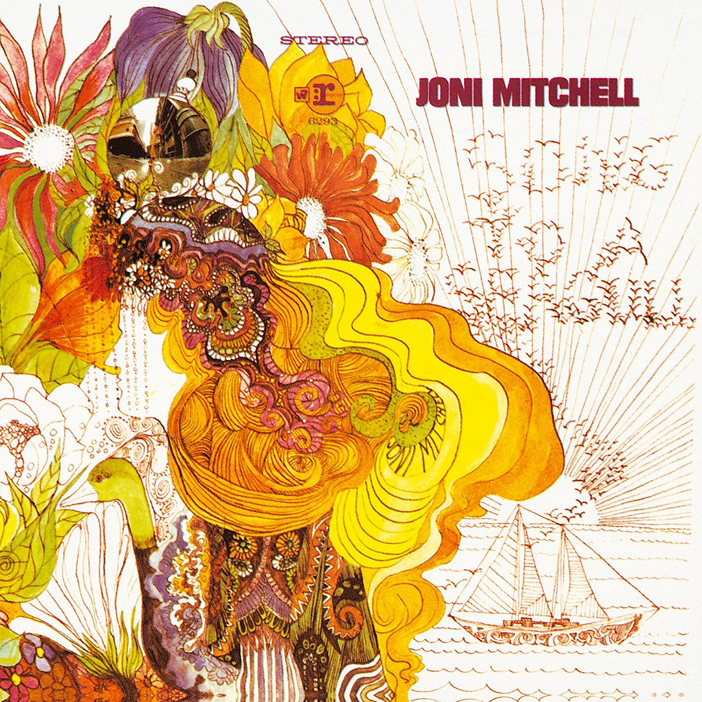 Joni Mitchell - Song To A Seagull - Đĩa CD