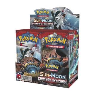 Bài Pokemon TCG Sun&Moon : Crimson Invasion chính hãng
