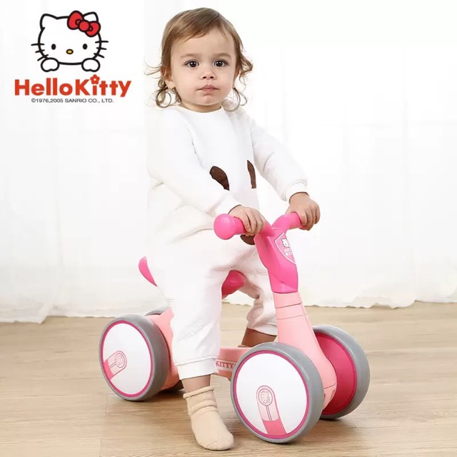Xe chòi chân Luddy 1006 Hello Kitty