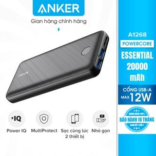 Pin sạc dự phòng ANKER PowerCore Essential 20000 - A1268 (Plastic) thumbnail