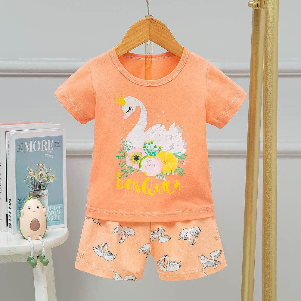 [25-33kg] Đồ bộ xuất Hàn size đại cho bé gái | Bảng màu 3
