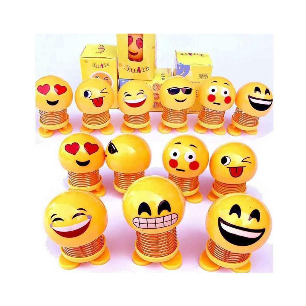 (COMBO 2 CON)Thú Nhún Emoji Lò Xo Mặt Cười