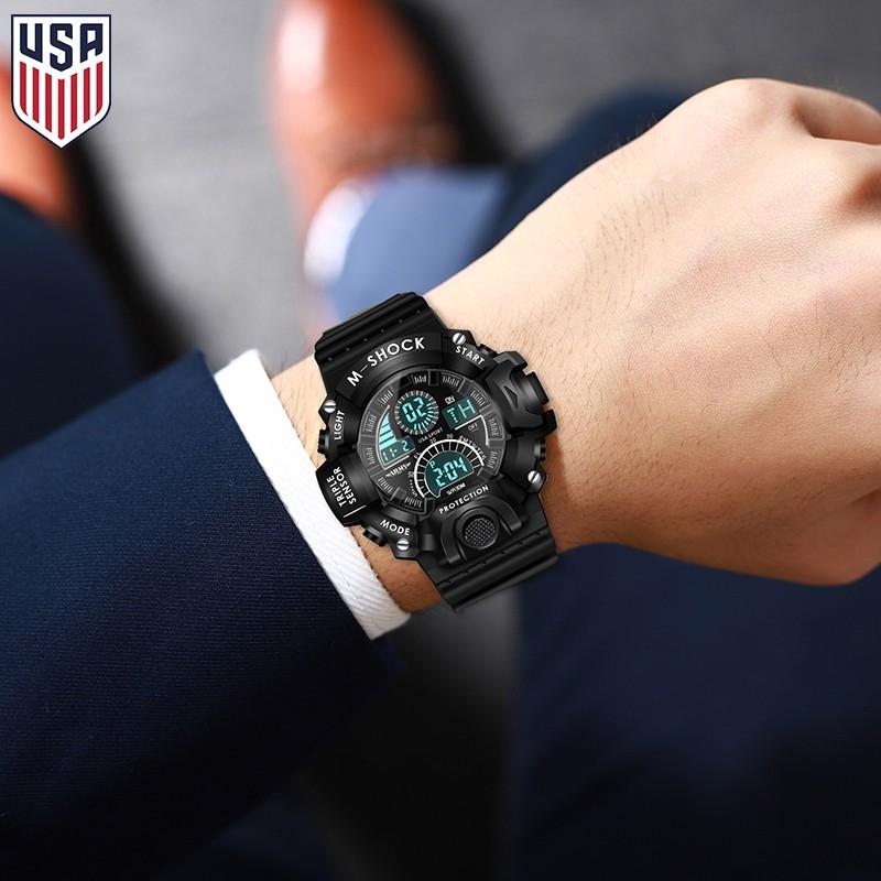 Đồng hồ Nam ARMY USA Chống Nước Siêu Bền - Thương Hiệu Cao Cấp từ Mỹ