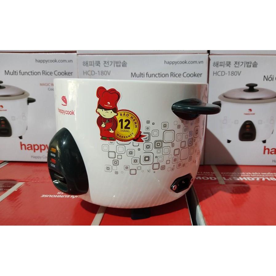 Nồi Cơm Điện Nắp Rời Happy Cook HCD-180V 1.8L