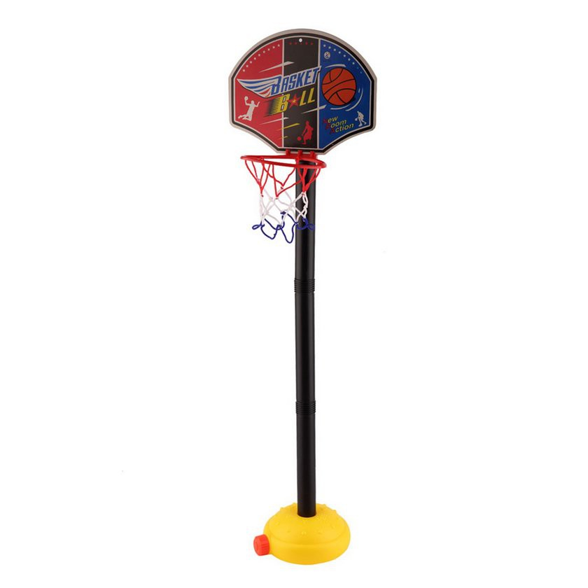 【Low Shipping】Kids Sports Basketball Toy Set with Stand Ball &Pump Toddler