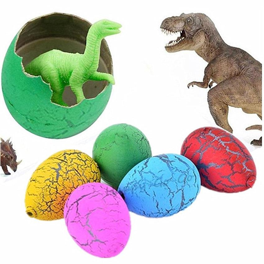 6Pcs Hatching Growing Dinosaur Eggs Add Water Growing Dinosaur Novelty Gag Toys For Child Kids Educational Toys Gifts