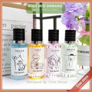 Nước hoa Body mist Shimang 50ml chính hãng nội địa Trung