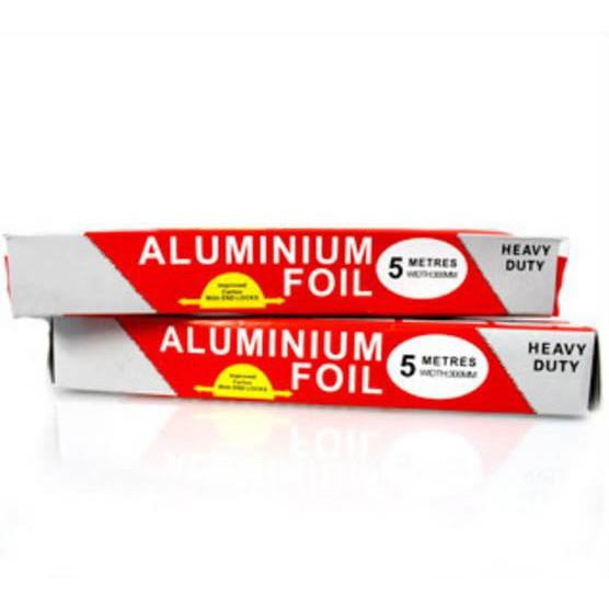 [Nhập HC1712 giảm 10%]Giấy bạc bọc, nướng, giữ nóng thực phẩm nhà bếp Aluminium Foil cuộn 30cmx5m