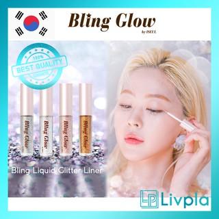 [Bling Glow] Bling Liquid Glitter Liner 4 color / Kẻ mắt long lanh / Phấn mắt dạng lỏng / ánh sao long lan