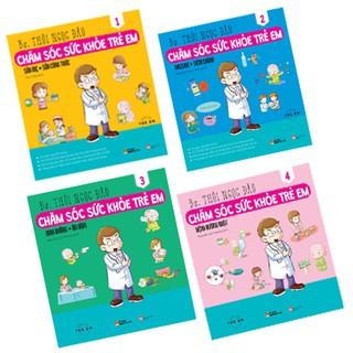 Sách - Combo sách Chăm sóc sức khỏe trẻ em (bộ 4 cuốn) thumbnail