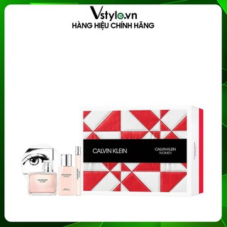 Set 3 Quà Tặng Nước Hoa EDP Cho Nữ Calvin Klein 10ml-100ml-100ml thumbnail