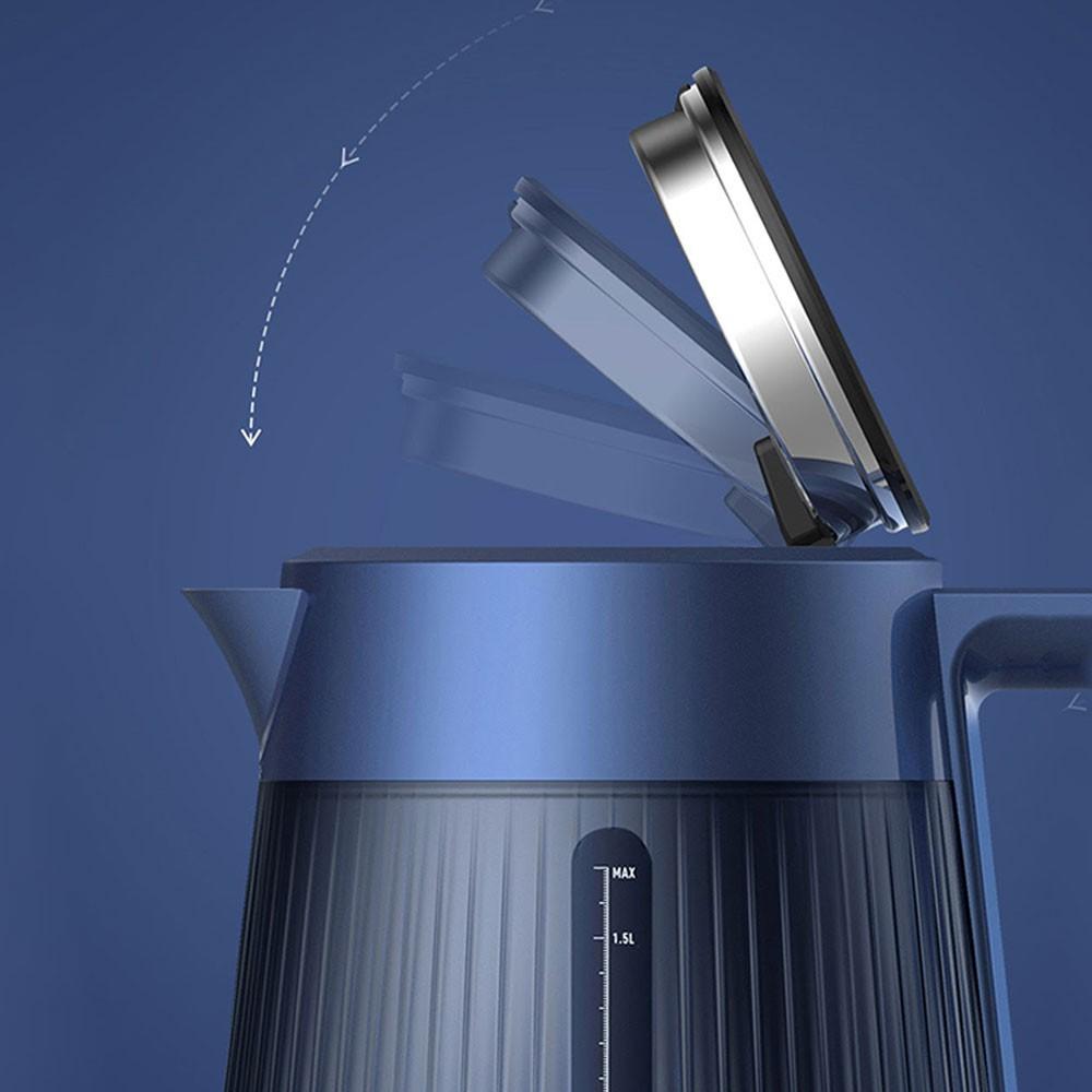 Ấm bình đun nước Deerma Pro DEM SH10 1.7L cao cấp đun siêu tốc tùy chọn nhiệt độ cần đun - minh Tín Shop