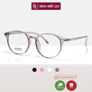 """Gọng kính cận Lilyeyewear thiết kế mắt tròn, phụ kiện nam nữ nhiều màu sắc - 215 giá chỉ còn <strong class=""""price"""">7.900.000.000đ</strong>"""