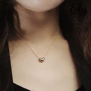 Dây chuyền mạ vàng phối mặt hình trái tim đơn giản thời trang Ne7 2