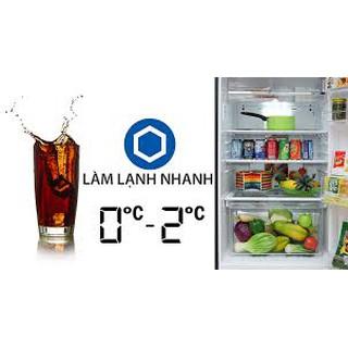 Tủ Lạnh SHARP SJ-XP400PG-BK