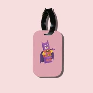 Travel tag cho túi xách balo du lịch in hình Batman Joker thumbnail