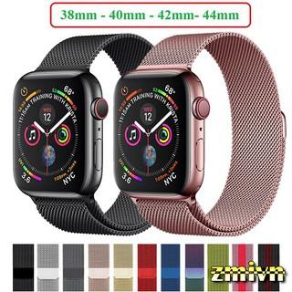 [Tặng dán full màn] Dây milanese loop apple watch đủ size