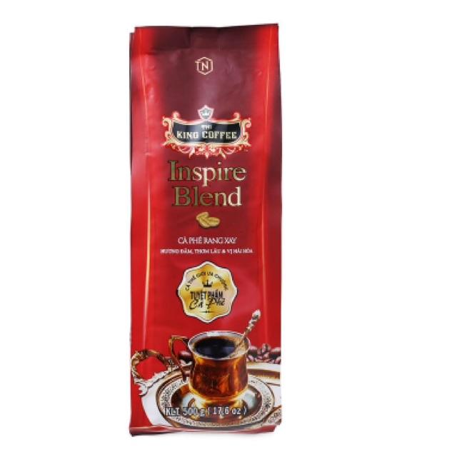Cà phê rang xay Inspire Blend King Coffee gói 500g (Hương đằm thơm lâu, vị hài hòa)