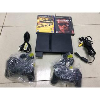 Máy PS2 Slim hàng nội địa Nhật kèm 7784 game thumbnail