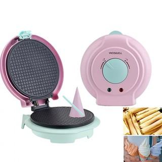 [Hàng chuẩn] Máy làm bánh ốc quế, vỏ ốc quế gia đình tiện dụng