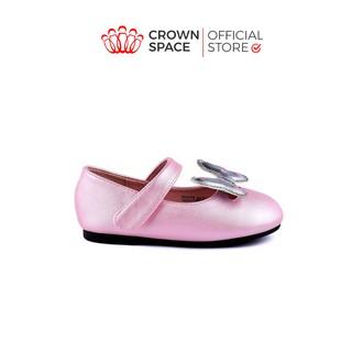 Giày Búp Bê Bé Gái Đi Học Đi Chơi Crown Space UK Ballerina Trẻ Em Cao Cấp CRUK3116 Màu Đen, Hồng Size 20-25 2-10 Tuổi thumbnail