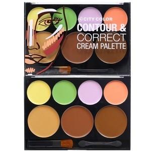 Bảng đánh khối City Color Contour & Correct Cream Palette
