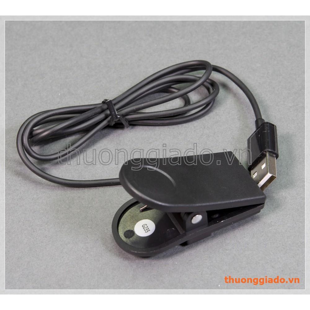 Đế sạc (cáp sạc usb) Garmin Forerunner 235 USB Charging Clip