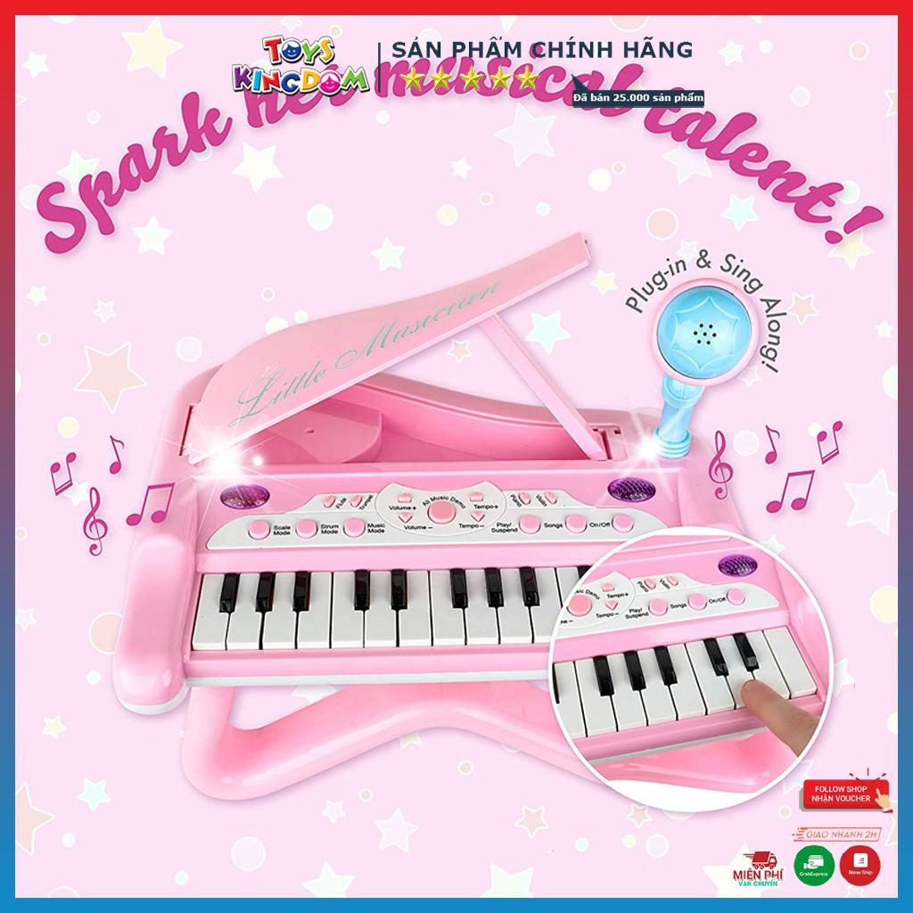 Đồ Chơi Cho Bé, Đàn Piano Có Chân Và Micro Dùng Pin No.J89-01 – Đồ Chơi Trẻ Em