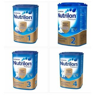 Sữa Nutrilon xách tay Nga số 1,2,3,4 - Hộp 800gr