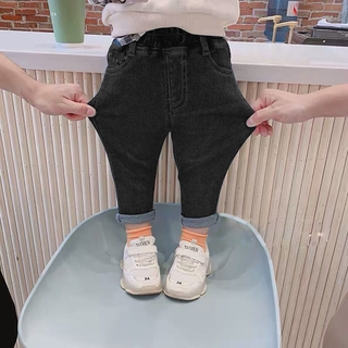 Quần Jeans Dài Thời Trang Cho Bé Trai